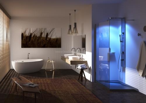 Ambientazione bagno - Rendering bagno ...